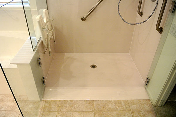 Improve shower accessibility with a bathroom remodel