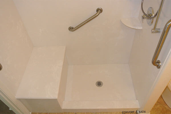 Cultured Marble bathroom remodel