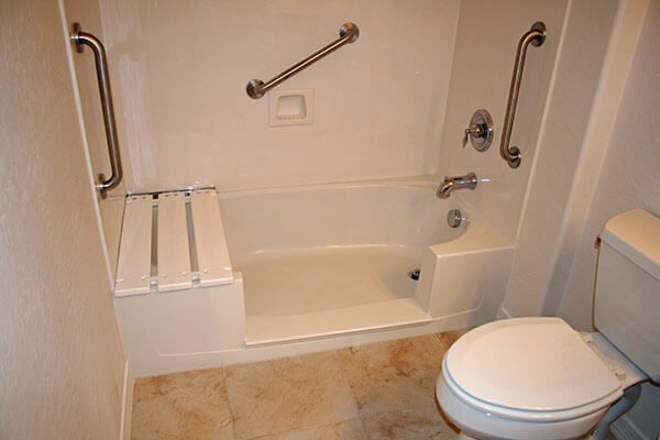 Bathroom safety remodel