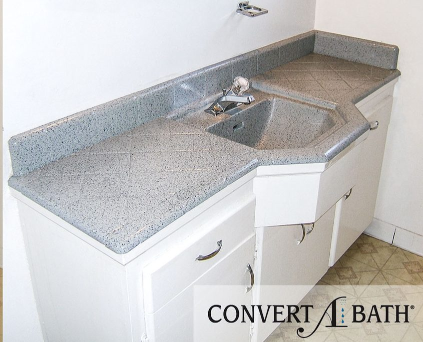 Faux Granite Vanity Top