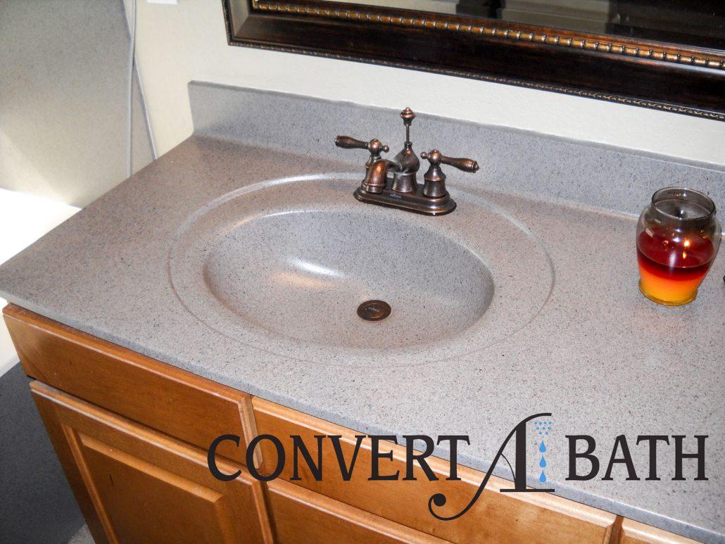 Refinish Cultured Marble Sink Vanities Convertabathr
