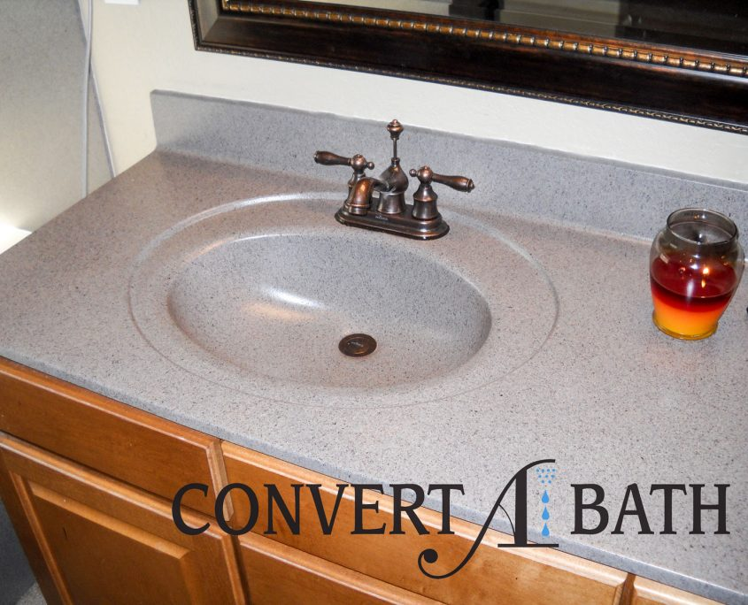 Cultured Marble Sink Vanity Top