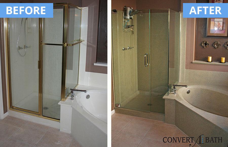 Faux Granite Convertabath 174