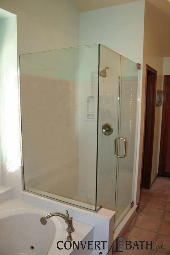 Frameless Glass Convertabath 174
