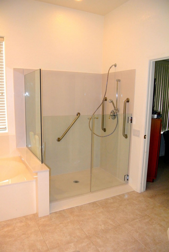 Accessible Showers Convertabath
