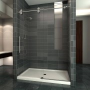 Sliding bypass shower door
