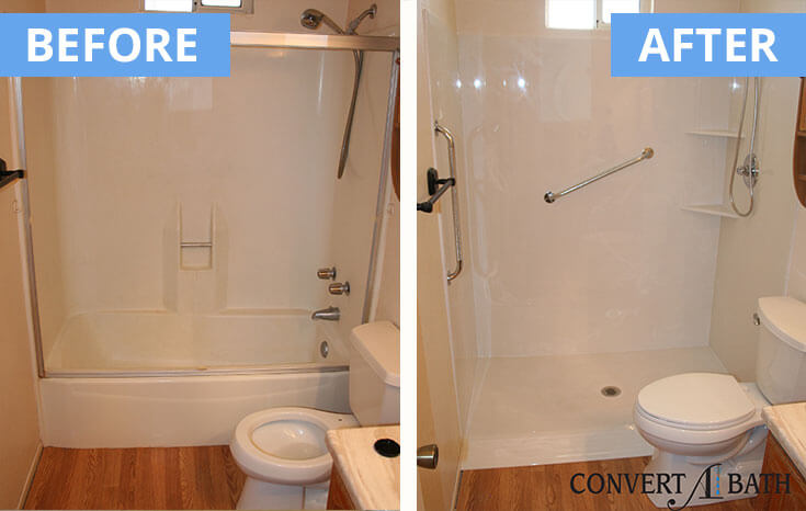 Accessible Showers - Convertabath®